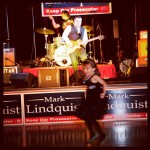 The Beatniks and Peter Buck of R.E.M. play at Mark Lindquist fundraiser